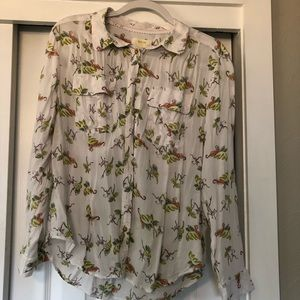 Anthropologie (Maeve) button down shirt